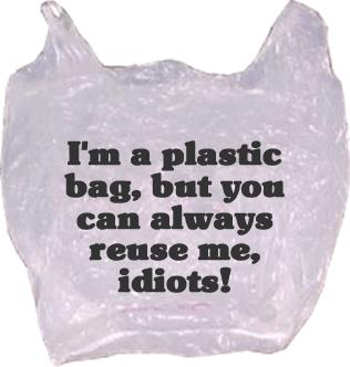 на что годится пластиковый пакет