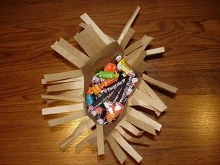 Бумажные пакеты на службе Хэллоуина