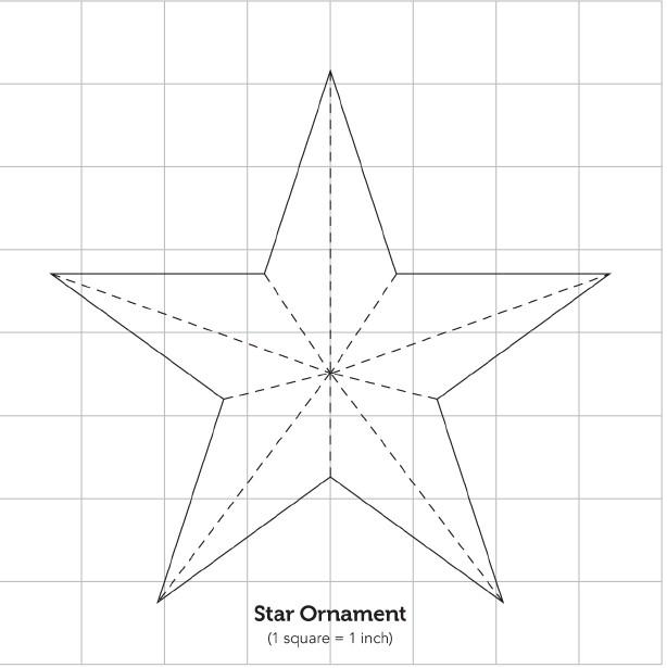 Звёзды из бумаги своими руками шаблоны 956