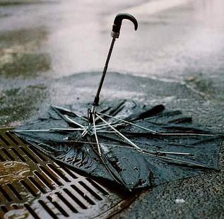 Что делать со старым зонтиком?