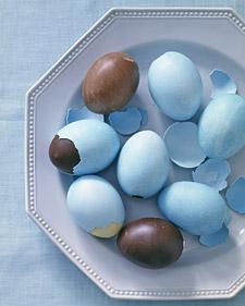 Самодельные шоколадные яйца к Пасхе по рецепту Марты Стюарт