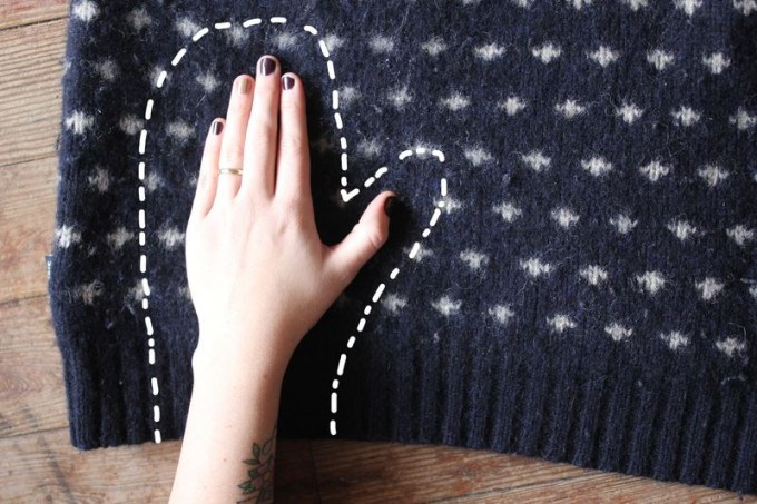 Своими руками из старого свитера