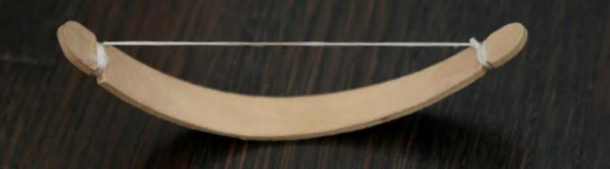 Как сделать лук из палочки