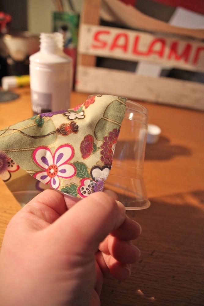Ёлочные игрушки своими руками из пластиковых стаканчиков