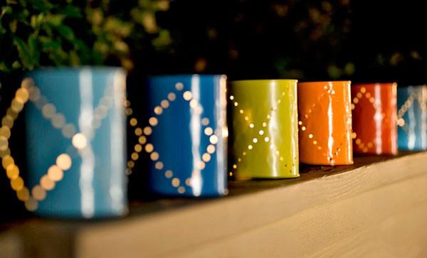 Новогодние украшения своими руками: гирлянды и фонарики (идеи)