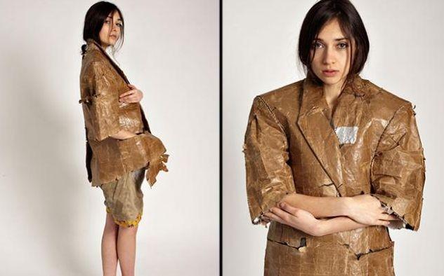 Одежда из мусора от нью-йоркского дизайнера