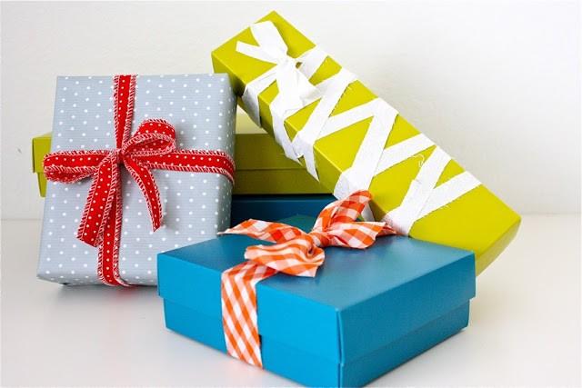Как запаковать новогодние подарки (идеи)