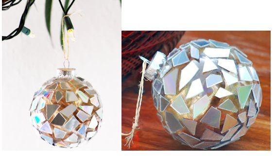 Самодельные ёлочные шары