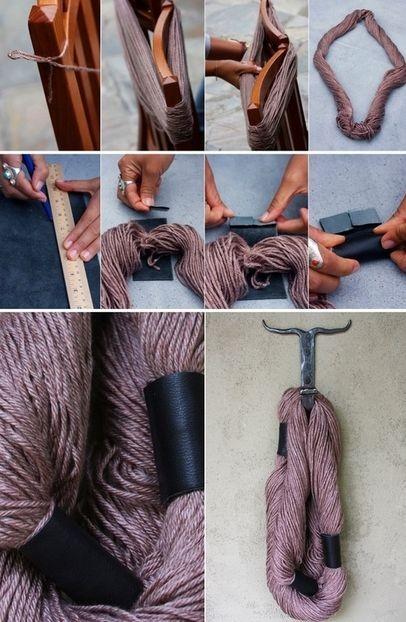 Что сделать из старых шарфов