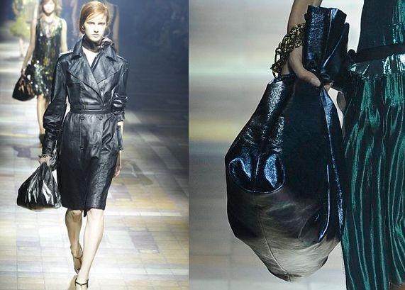 Модная сумочка из пакета для мусора