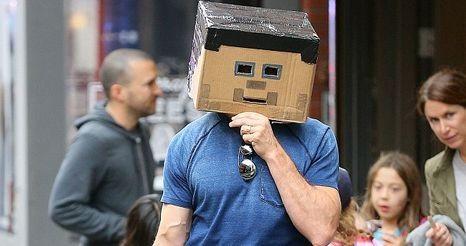 Хью Джекман пришёл в самодельном костюме из Майнкрафта