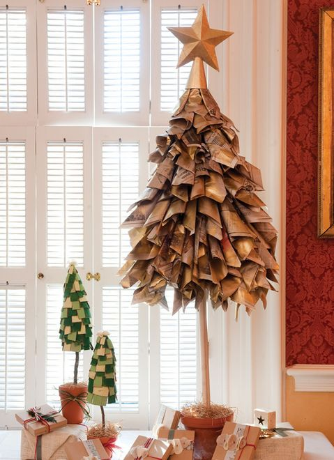 Альтернативные новогодние елки – своими руками! Спонтанные новогодние междусобойчики в кругу сослуживцев