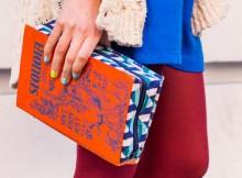 Модная сумка из винтажной книги