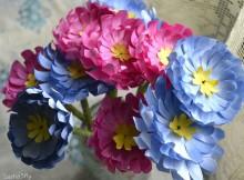 Как сделать цветы своими руками на 8 Марта (мастер-класс)