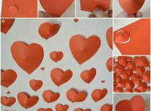 Как создать романтическую атмосферу на День святого Валентина (мастер-класс)