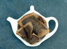 Что делать со спитыми пакетиками чая