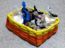 Декорируем коробку трикотажем: мастер-класс