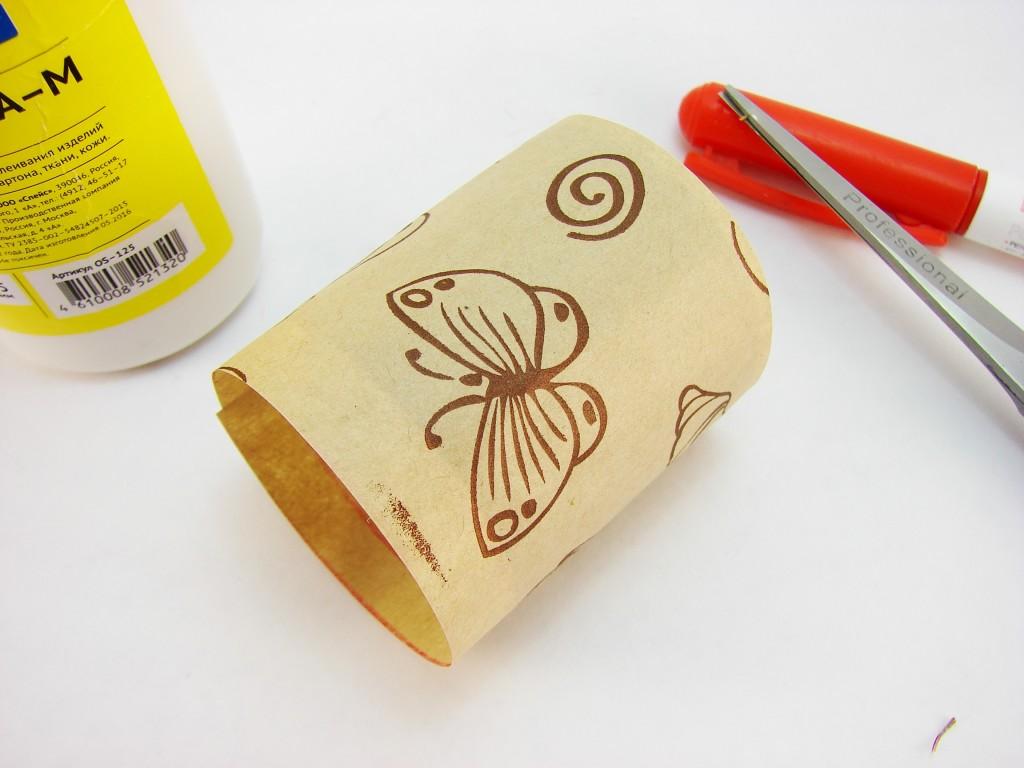 Пасхальные поделки своими руками: подставка для яйца из втулки от туалетной бумаги