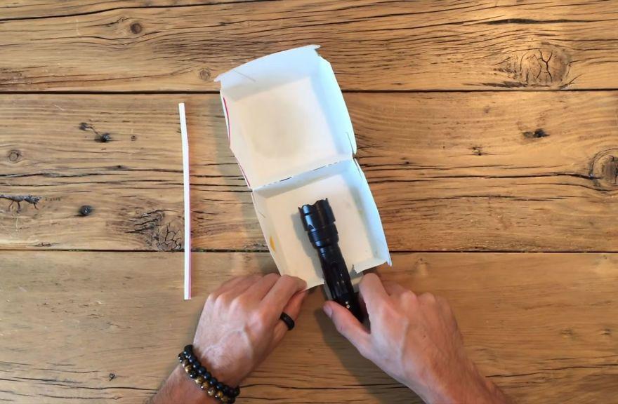Необычное применение упаковки из Макдональдса